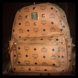 MCM Small Side Stud Backpack